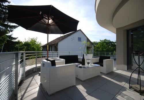 Penthouse im Rohbau in Ludwigsburg