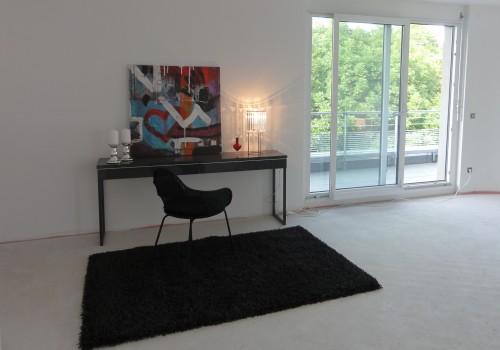 Projekt Penthouse im Rohbau in Ludwigsburg