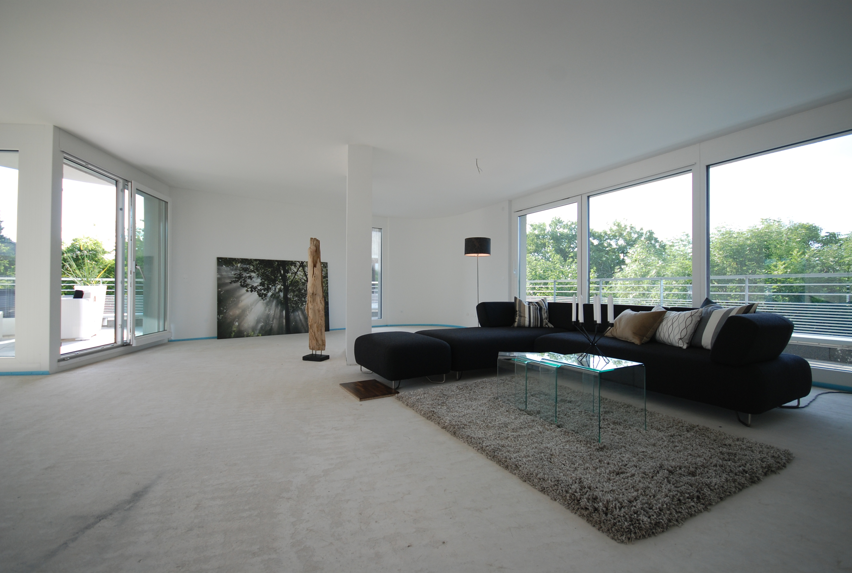 penthouse im rohbau in ludwigsburg barbara l ffler. Black Bedroom Furniture Sets. Home Design Ideas